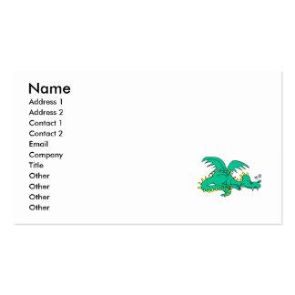 Dragon Sleeping Business Card