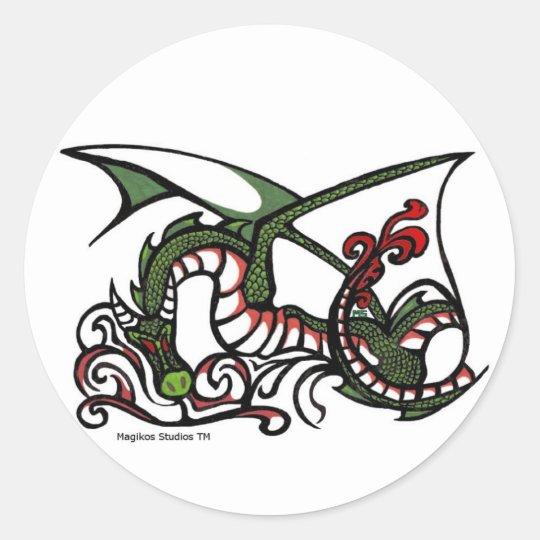 Dragon Smoke Stickers