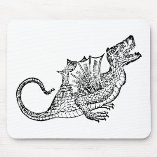Dragon Snake Mouse Pad