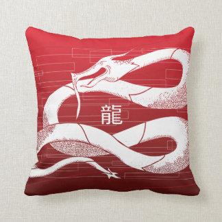 Dragon Soul: Patriot Throw Pillow