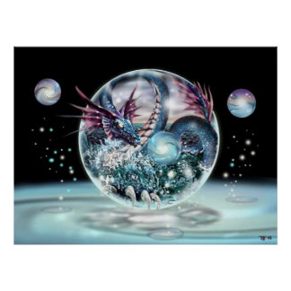 dragon sphere Picture Posters
