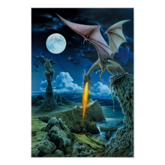 Dragon Spit Poster
