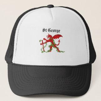 dragon, St George Trucker Hat