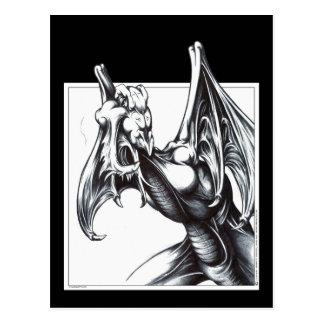 Dragon Stalking Postcard