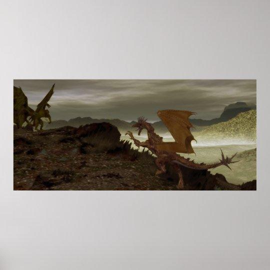 Dragon Standoff Poster