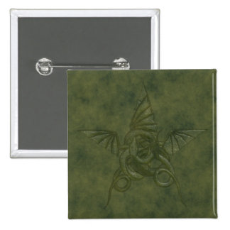 Dragon Star - Embossed Green Leather Image Button