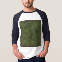 Dragon Star - Embossed Green Leather Image