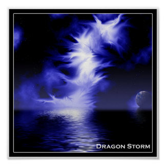 Dragon Storm Poster