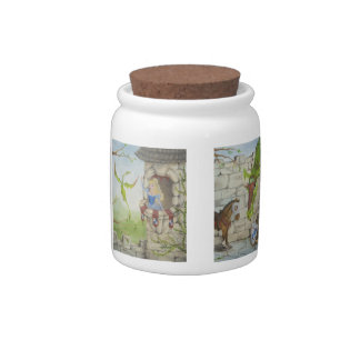 Dragon Story Candy Jar