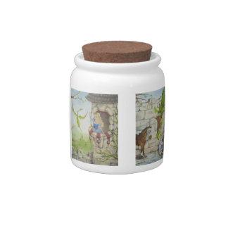 Dragon Story Candy Jar