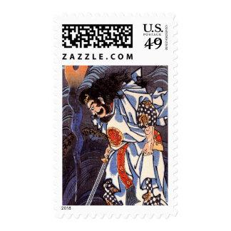 Dragon Susanoo no mikoto Postage Stamps