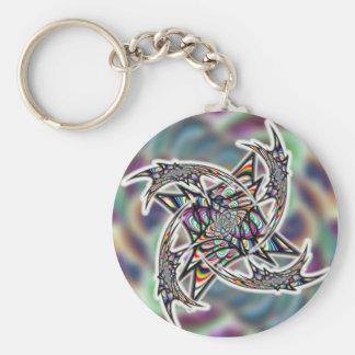 Dragon Swirl Keychain