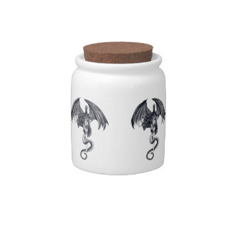 Dragon & Sword Candy Jar