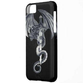 Dragon & Sword iPhone 5C Barely There Case Case For iPhone 5C
