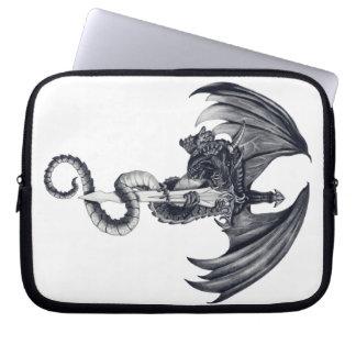Dragon & Sword Laptop Sleeve