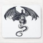 Dragon & Sword Mousepad