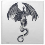 Dragon & Sword Napkin