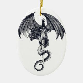 Dragon & Sword Ornament