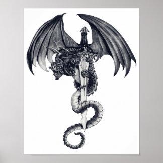 Dragon Sword Poster Art