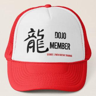 Dragon-symbol, DOJO MEMBER, GEORGE LYNCH GUITAR... Trucker Hat