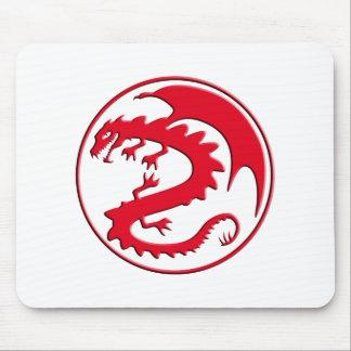 Dragon symbol mouse pad