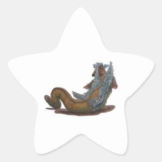 Dragon Tale and Dragon Scale Sticker