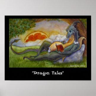 """Dragon Tales"" Poster"