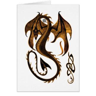 Dragón Tarjeta De Felicitación