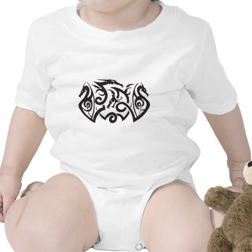 Dragon Tattoo Baby Bodysuit