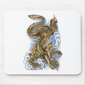 dragon tattoo design mouse pad
