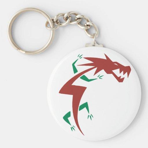 Dragon Tattoo Keychain