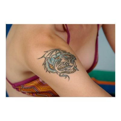 Female Dragon Tattoos Picture 2