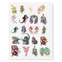 Dragon Tattoos Temporary Tattoos - Large