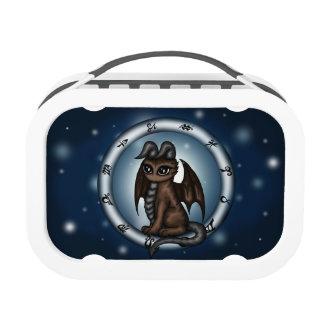 Dragon Taurus Zodiac lunch box