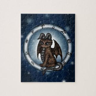 Dragon Taurus Zodiac Puzzles