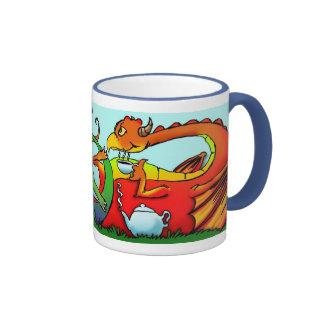 Dragon Tea Time Coffee Mug