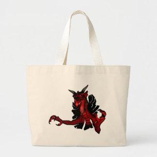 Dragon Tear Through Purse Bag