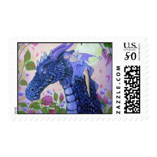dragon tears by Lori Karels Postage