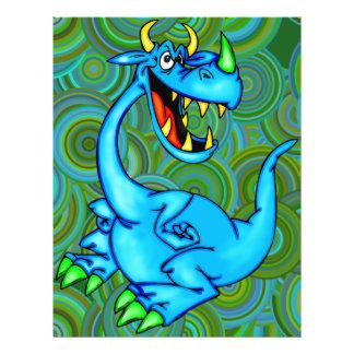 "Dragón temible folleto 8.5"" x 11"""