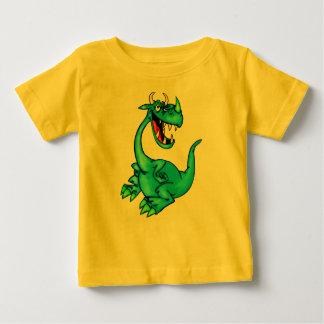 Dragón temible playera de bebé
