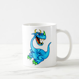 Dragón temible taza clásica
