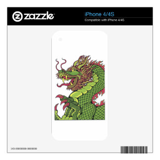 Dragon TEO.png Decals For iPhone 4
