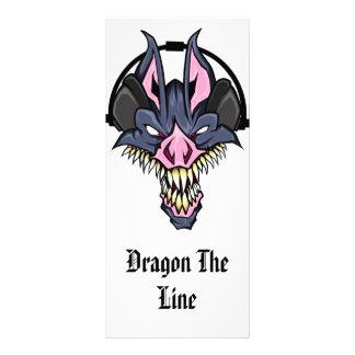 Dragon The Line- Professional Dj Rack Card