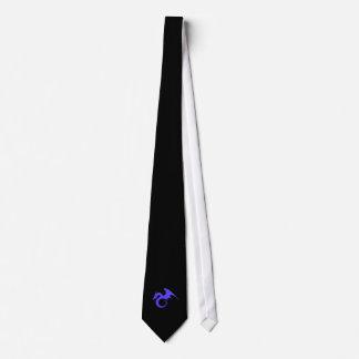 Dragon tie black