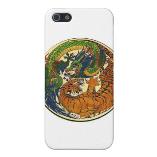 DRAGON TIGER CASE FOR iPhone SE/5/5s