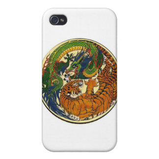 DRAGON TIGER iPhone 4 CASES