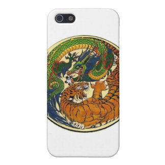 DRAGON TIGER iPhone SE/5/5s COVER