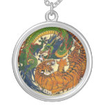 DRAGON TIGER PERSONALIZED NECKLACE