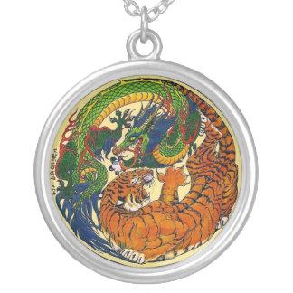 Dragon/Tiger Yin Yang Symbol Pendant