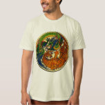 Dragón/tigre Yin Yang Camisas